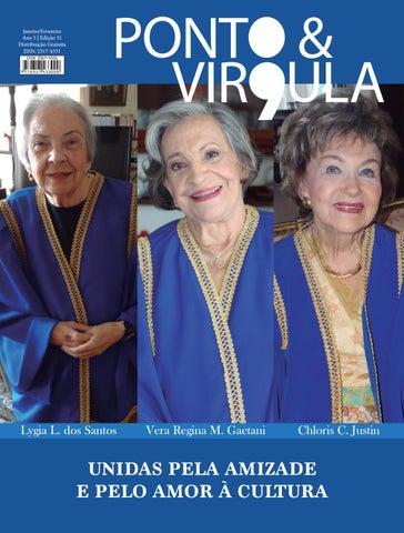 """Cover of """"Revista Ponto & Vírgula - Ano 5 - Edição 31 - Janeiro/Fevereiro 2017"""""""