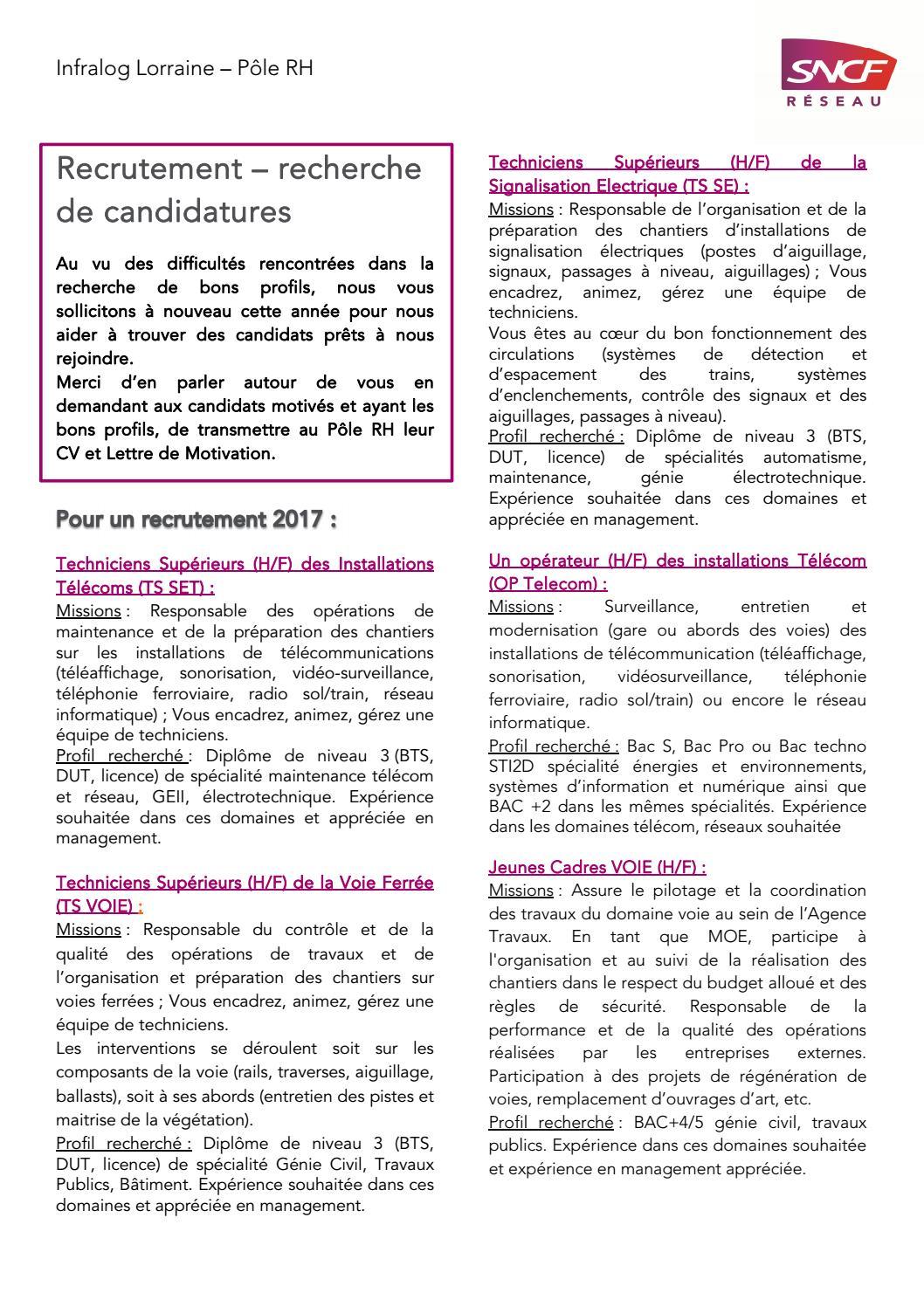 Flash Info Recrutement 022017 By Williams Steffen Issuu