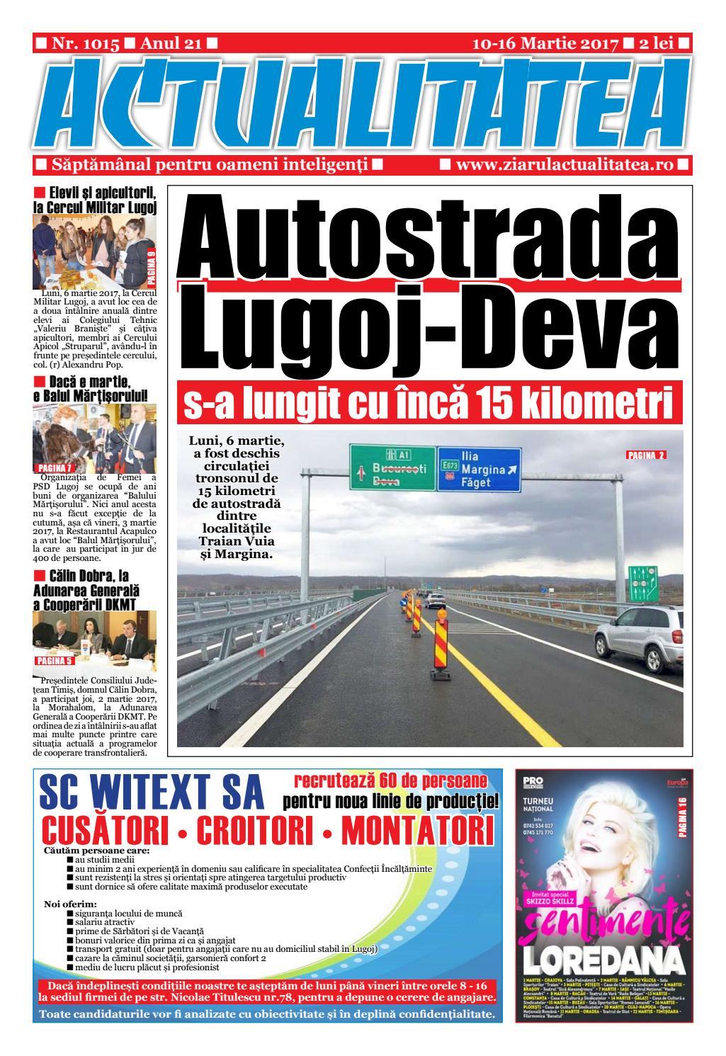 Publicat 24 femei Mioveni