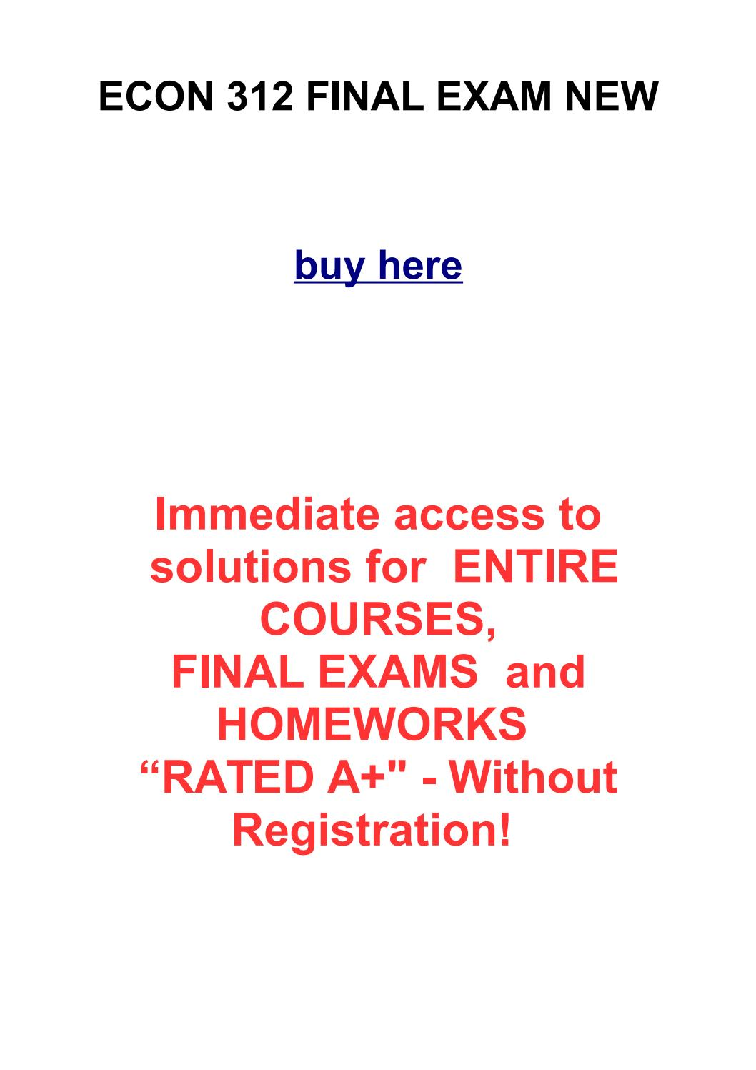 econ final exam review The clep principles of macroeconomics exam covers material that is usually taught in a one-semester undergraduate course in this subject.