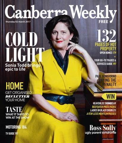 5c4fd2c44d7235 02 March 2017 by Canberra Weekly Magazine - issuu