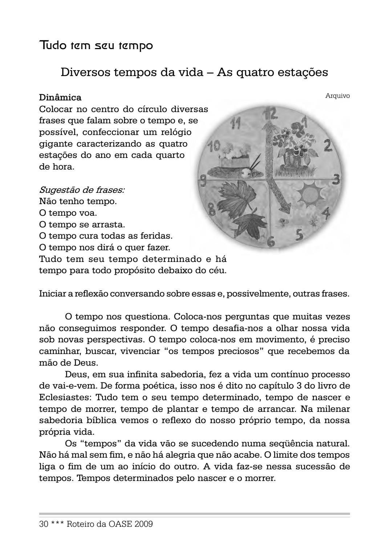 Roteiro Da Oase 2009 By Portal Luteranos Ieclb Issuu