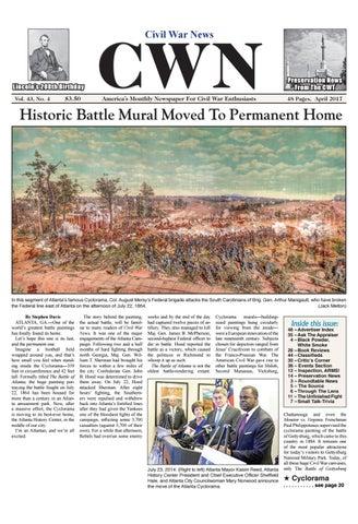 74007fee792 Civil War News April 2017 by Civil War Dealers   Collectors ...