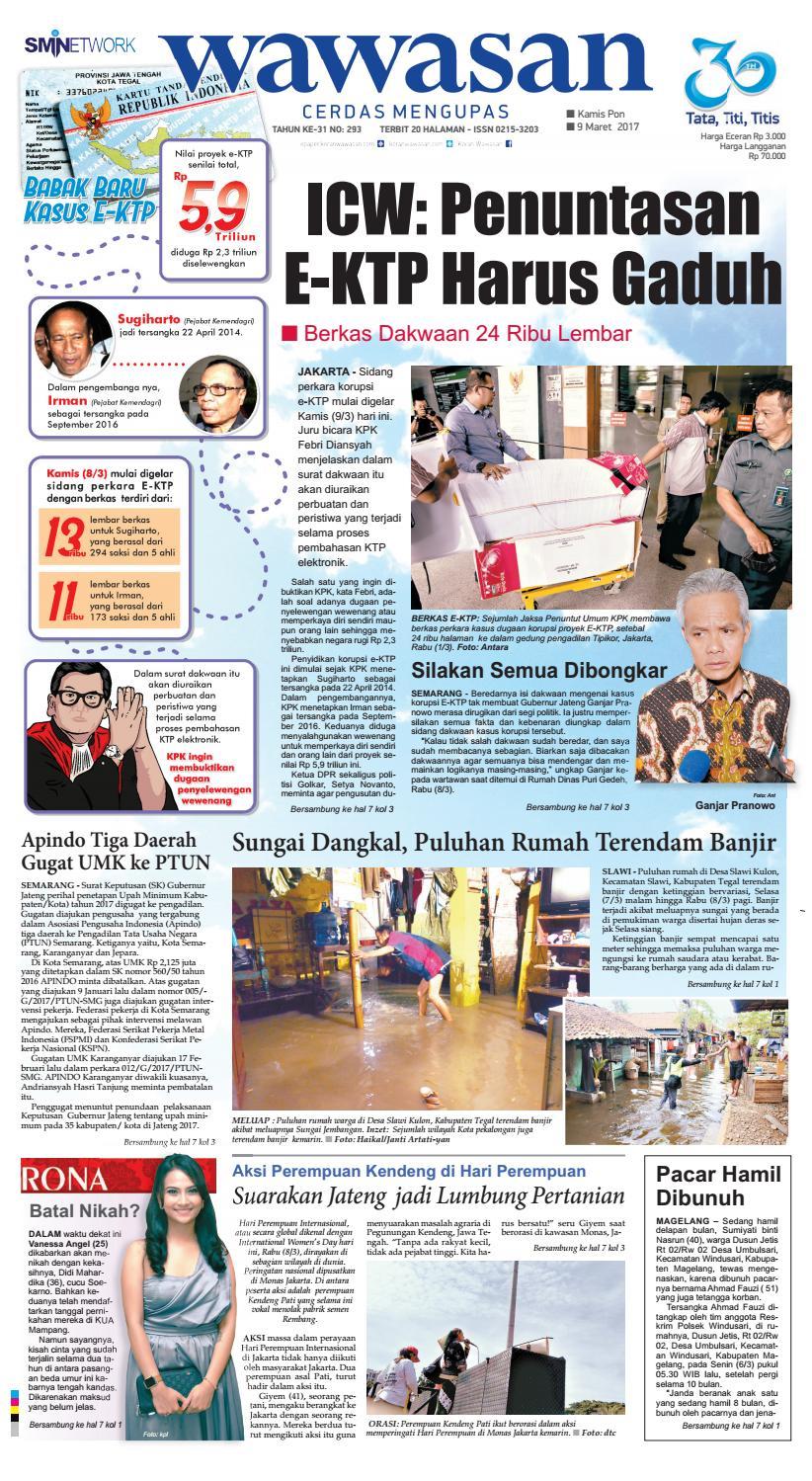 Wawasan 09 Maret 2017 By Koran Pagi Issuu Produk Ukm Bumn Kain Batik Eksklusif Lasem Manuk