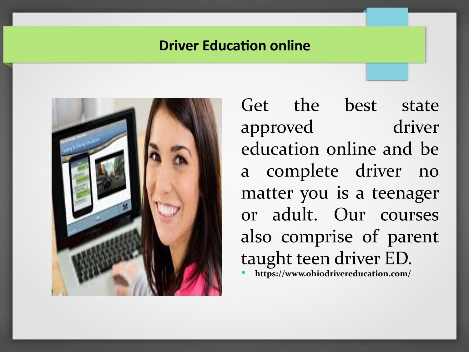 Online Drivers Ed >> Driver Education Online By Ohiodrivereducation Issuu