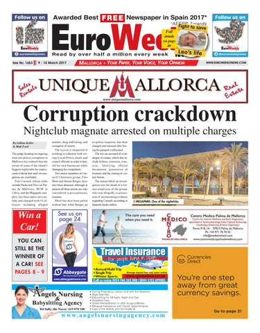 aababdfc0d981 Euro Weekly News - Mallorca 9 - 15 March 2017 Issue 1653 by Euro ...