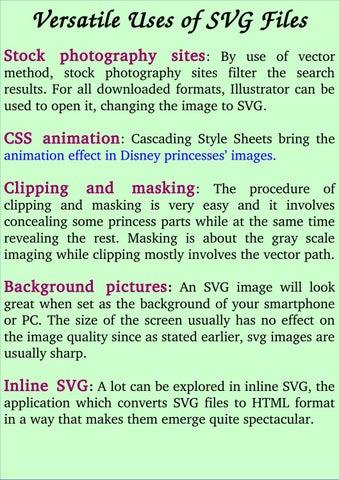 Versatile Uses of SVG Files by robertwashburn - issuu