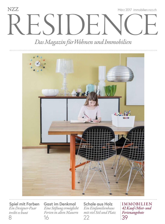 Residence März 2017 by NZZ Residence - issuu