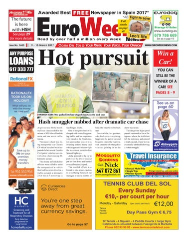 Euro weekly news costa del sol 9 15 march 2017 issue 1653 by page 1 fandeluxe Choice Image