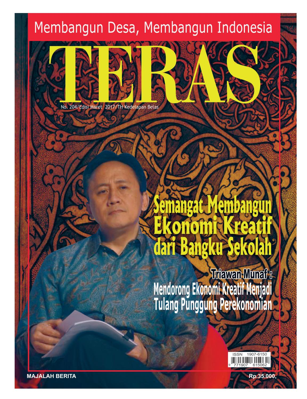Majalah Teras Edisi 204 By Dewi Fitriani Issuu Produk Ukm Bumn Ring Mutiara Mas Putih Laut