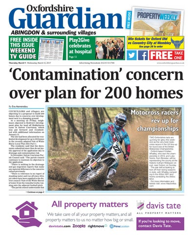 09 March 2017 Oxfordshire Guardian Abingdon By Taylor Newspapers Issuu