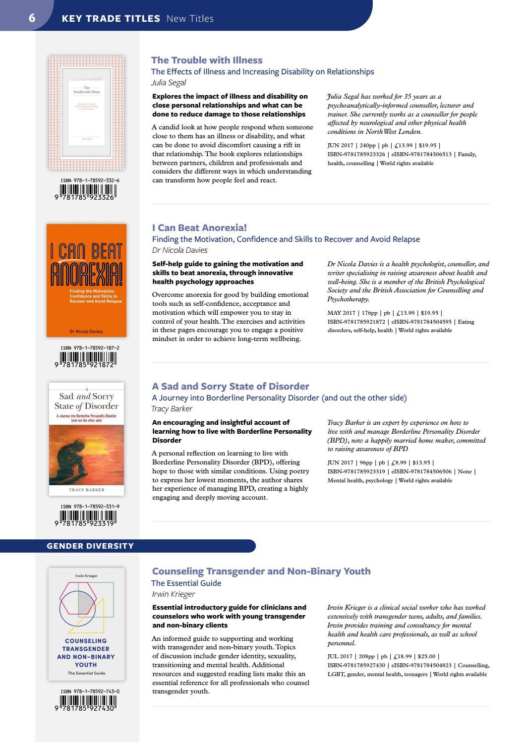 Jessica Kingsley Publishers - New Titles Catalogue Spring-Summer 2017 by  Jessica Kingsley Publishers - issuu