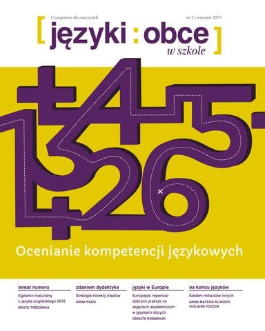 9aaf30c8858ab Jezyki obce w szkole 2015 3 by Fundacja Rozwoju Systemu Edukacji - issuu