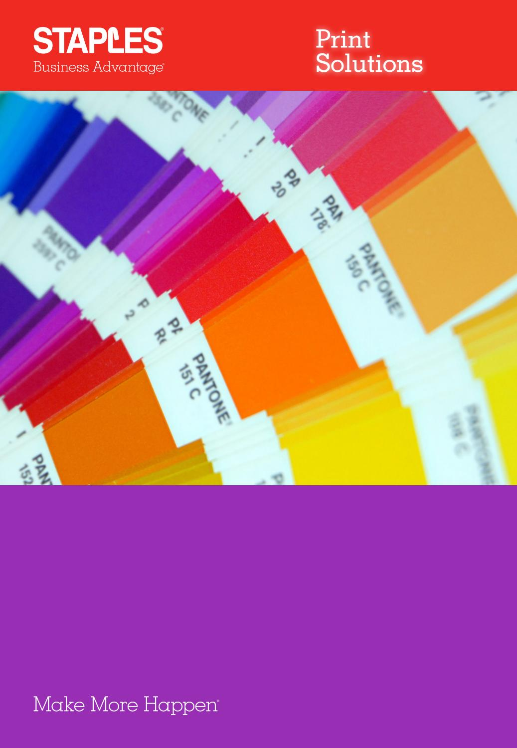 Print Solutions Uk By Staples Issuu