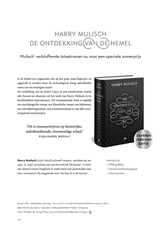 Brochure Zomer 2017 By De Bezige Bij Issuu