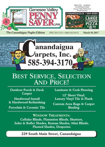 The Genesee Valley Penny Saver Canandaigua-Naples Edition 3/10/17 by ...