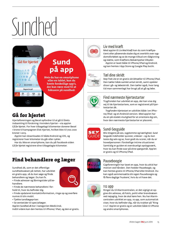 e5c9ebea2c MEDLEMSBLADET ÆLDRE SAGEN JUNI 2014 by Ældre Sagen - issuu