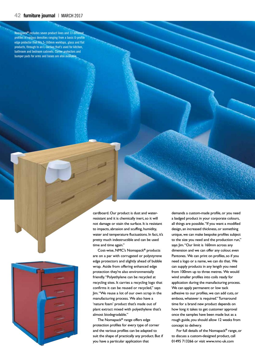 Furniture Journal March 2017 By Craftsman Publishing Co Ltd Issuu