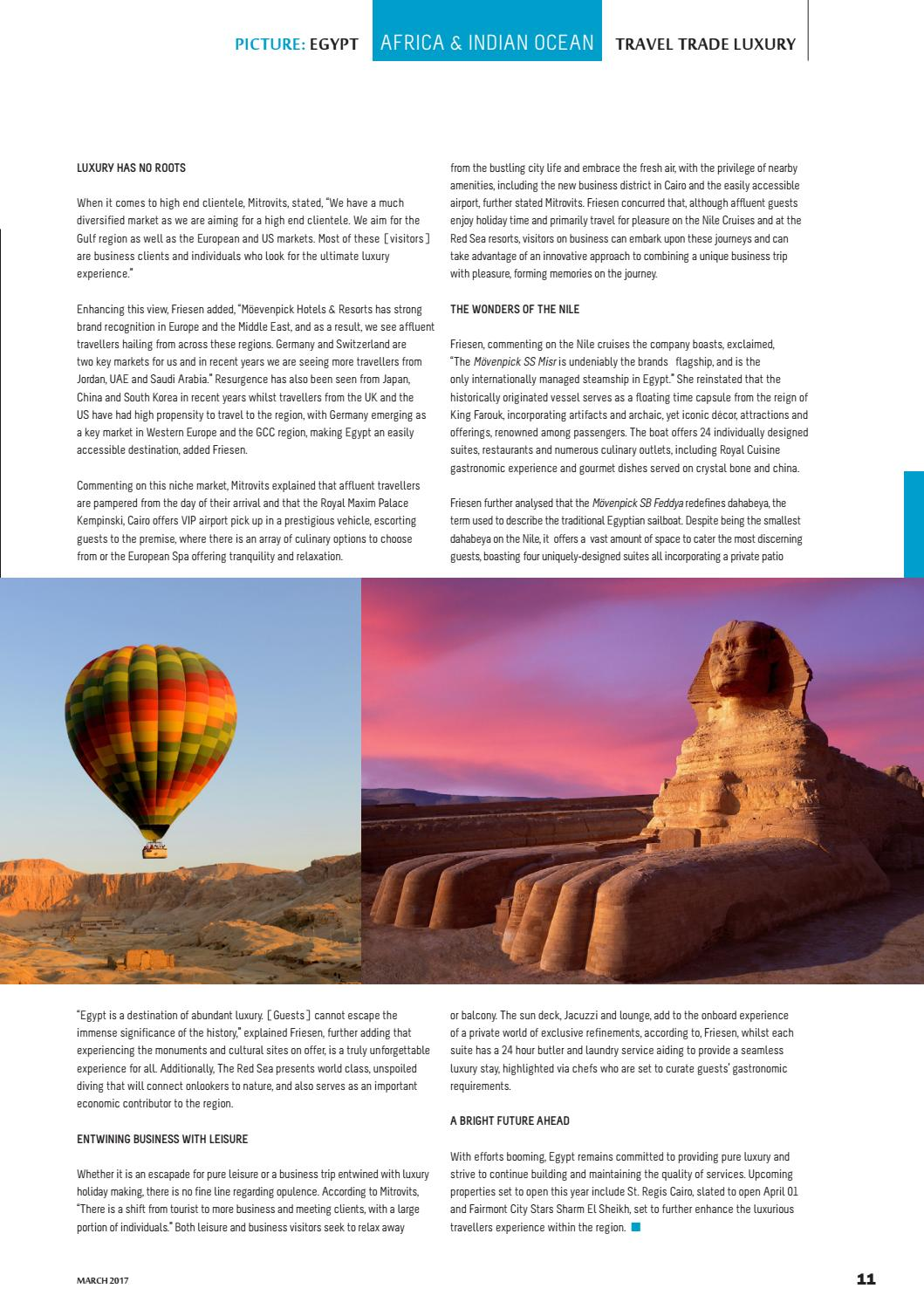 Travel Trade Luxury, March 2017, Issue 13 by Travel Trade