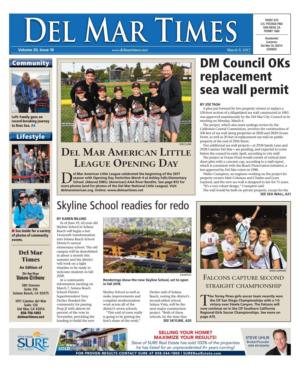 Del mar times 03 09 17 by MainStreet Media - issuu