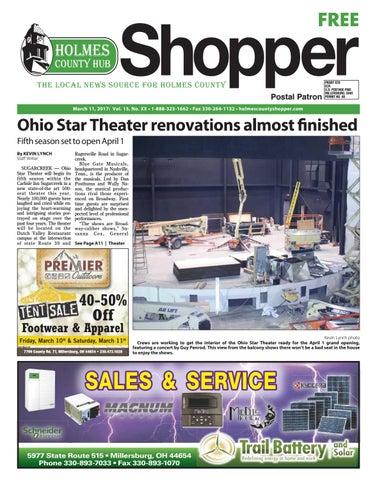 Holmes County Hub Shopper, March 11, 2017 by GateHouse Media