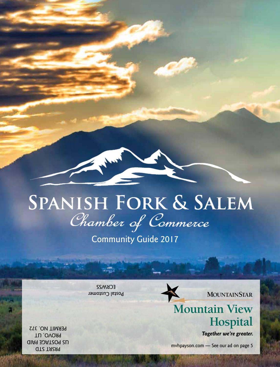 2017 Spanish Fork & Salem Chamber Of Commerce by Daily