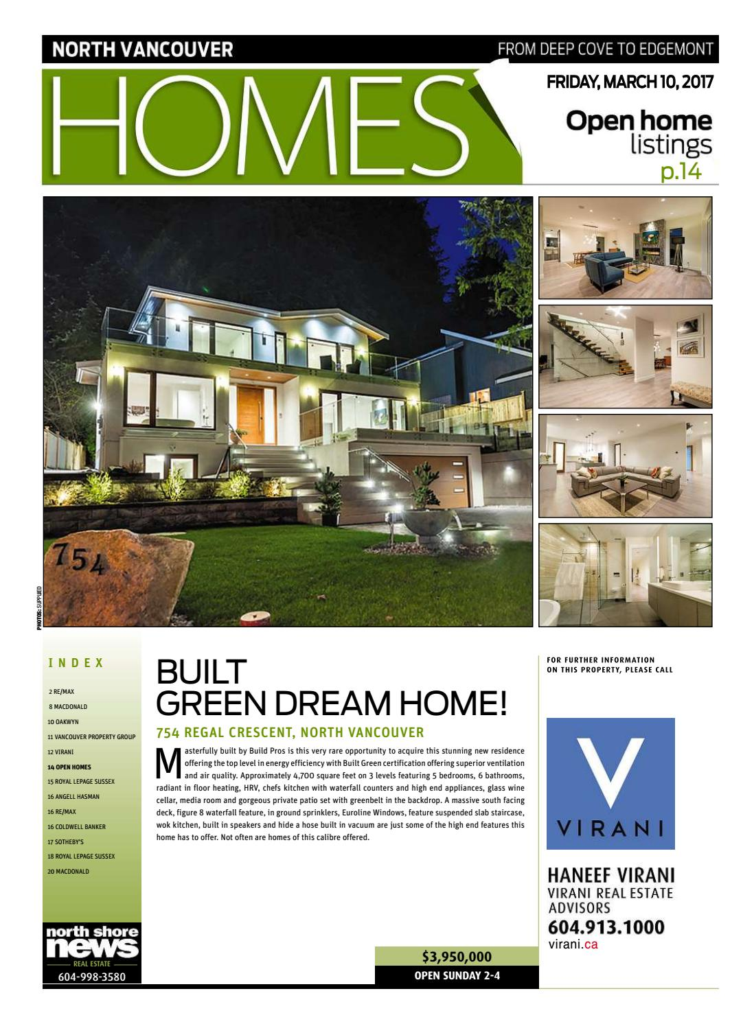 North Vancouver Home Real Estate March 10 10 by NSN Features   issuu