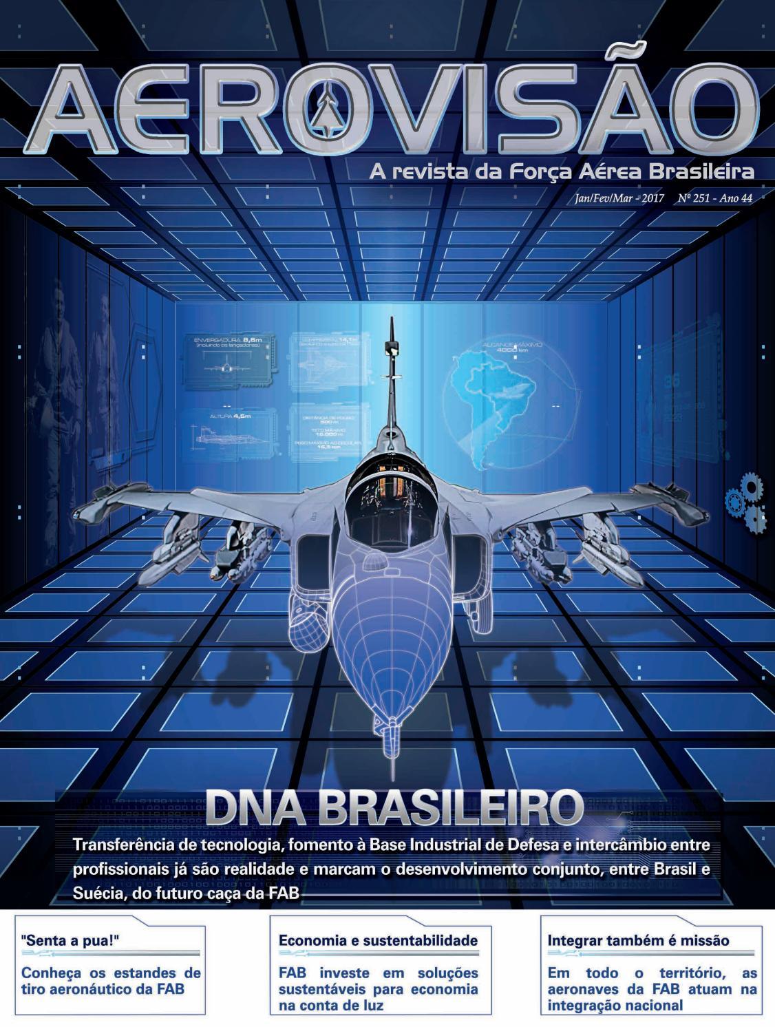 028ba6ae251 Aerovisão nº 251 JAN FEV MAR by Força Aérea Brasileira - issuu