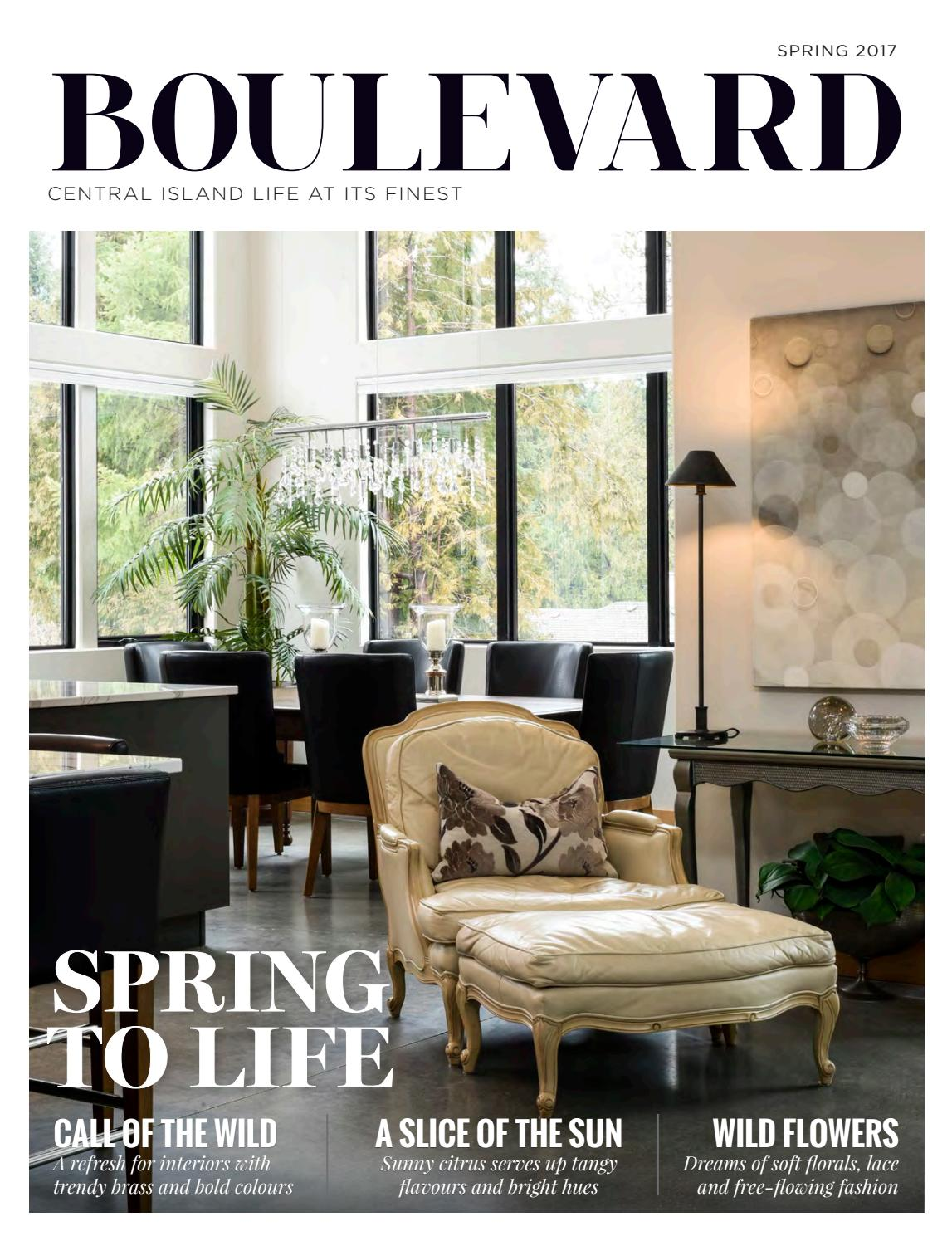 Boulevard Magazine Central Island Edition Spring 2017 Issue By