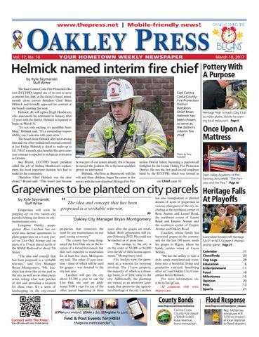 7f5a455fab0 Oakley Press 03.10.17 by Brentwood Press   Publishing - issuu