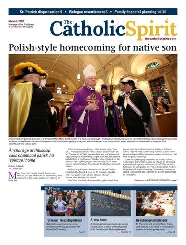 The Catholic Spirit - March 9, 2017 by The Catholic Spirit