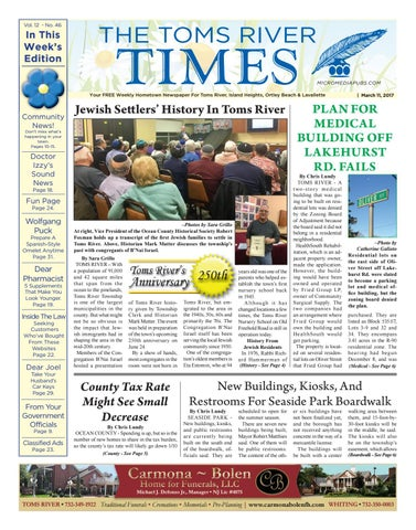 fe27bb6b351 2017-03-11 - The Toms River Times by Micromedia Publications Jersey ...