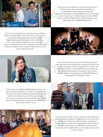Werkschoenen Nijmegen.Editie 2 Maart 2017 Nijmegen Business By Nijmegen Business Issuu