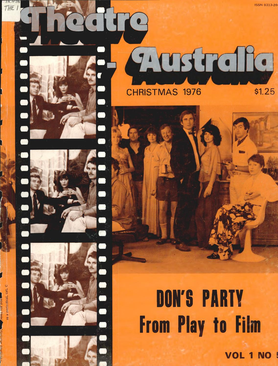 Theatre Australia Christmas 1976 by UOW Library - issuu