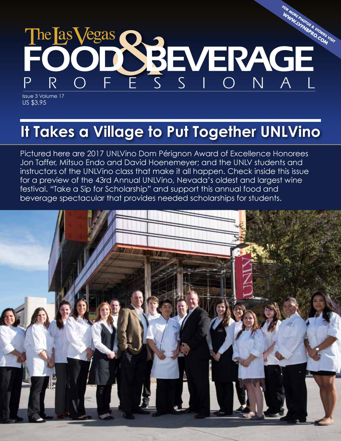 March 2017 The Las Vegas Food Beverage Professional By The Las