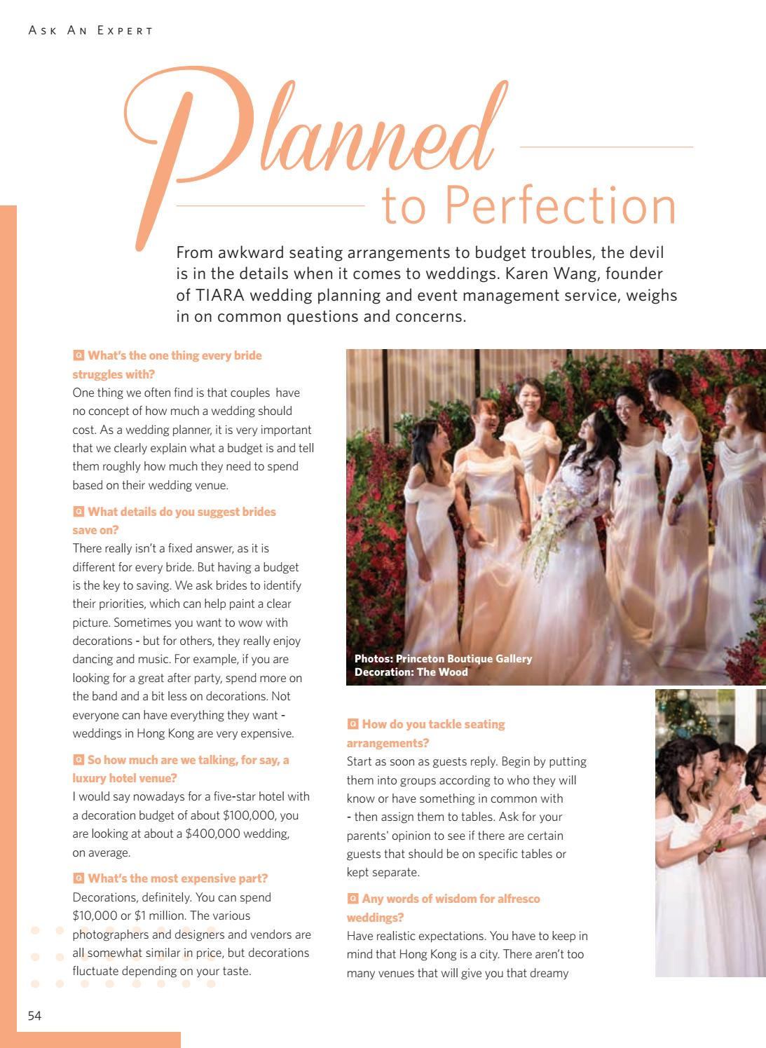 How Much Is A Wedding.My Hong Kong Wedding March 2017 By Liv Media Limited Issuu