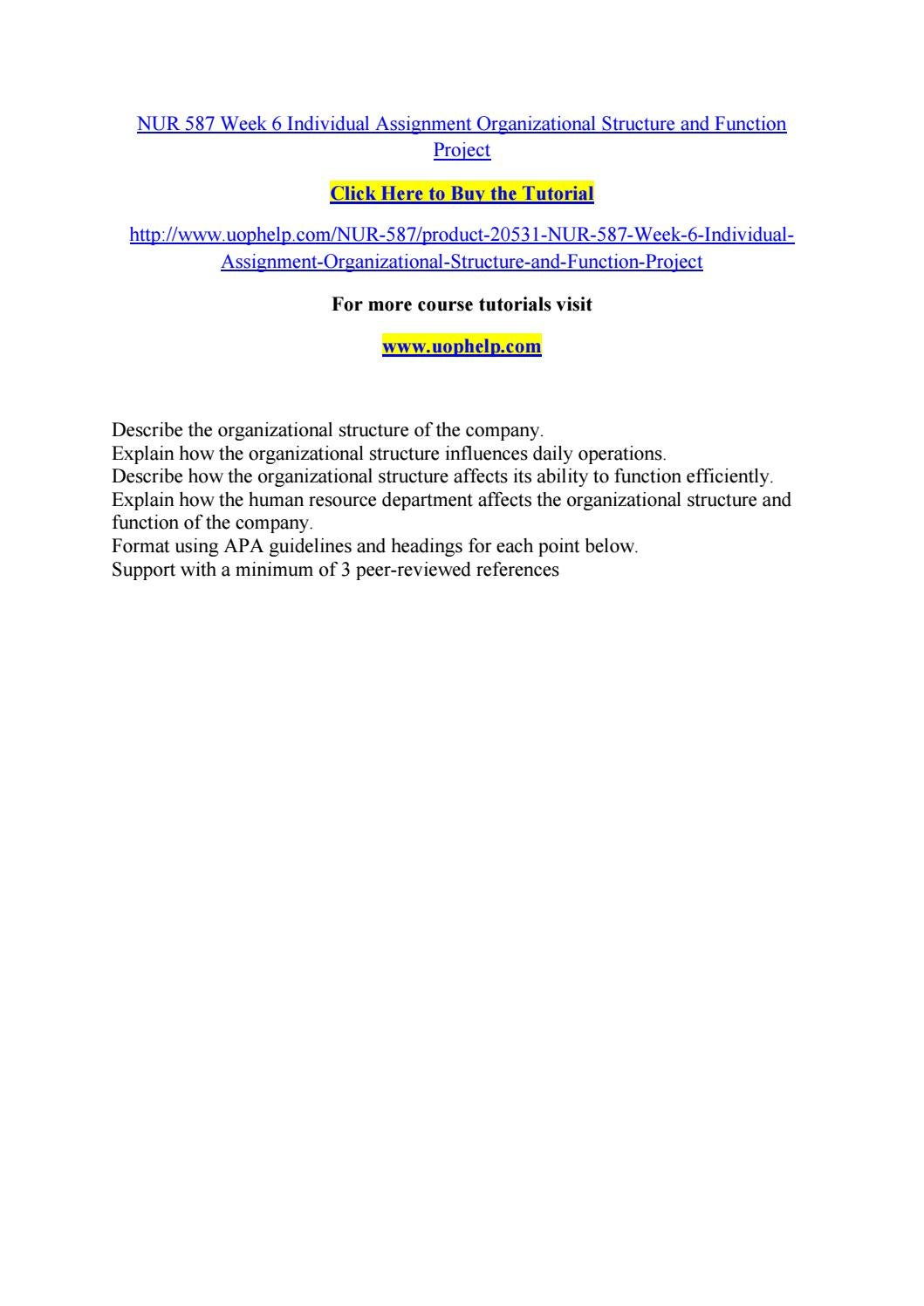 organizational analysis paper nur 587 Here is the best resource for homework help with nur 587 : version 3 at university of phoenix find nur587 study guides, notes, and practice tests from.