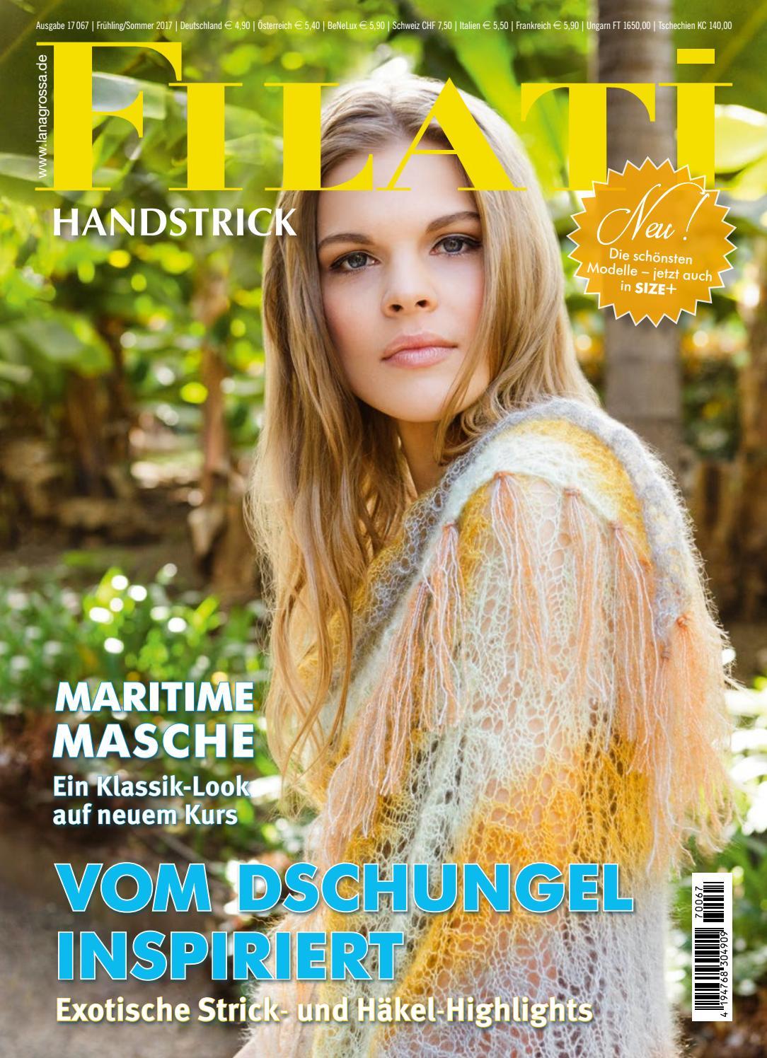 Ausg 43,Handstrick Frühjahr,11 Filati stricken,häkeln,Modelle,45 Anleitungen