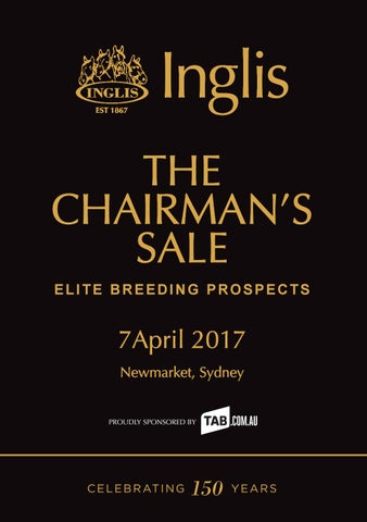07ee37223543 2017 Chairman s Sale - Elite Breeding Prospects by Inglis - issuu