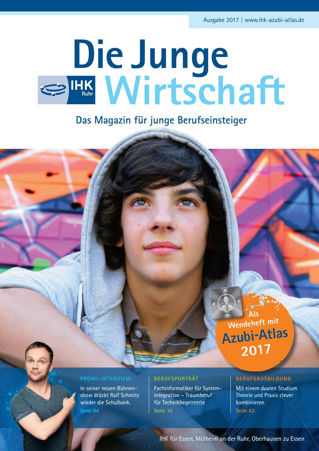 Die Junge Wirtschaft Essen 2017 + Azubi Atlas Essen 2017 by Patrick Schaab  - issuu