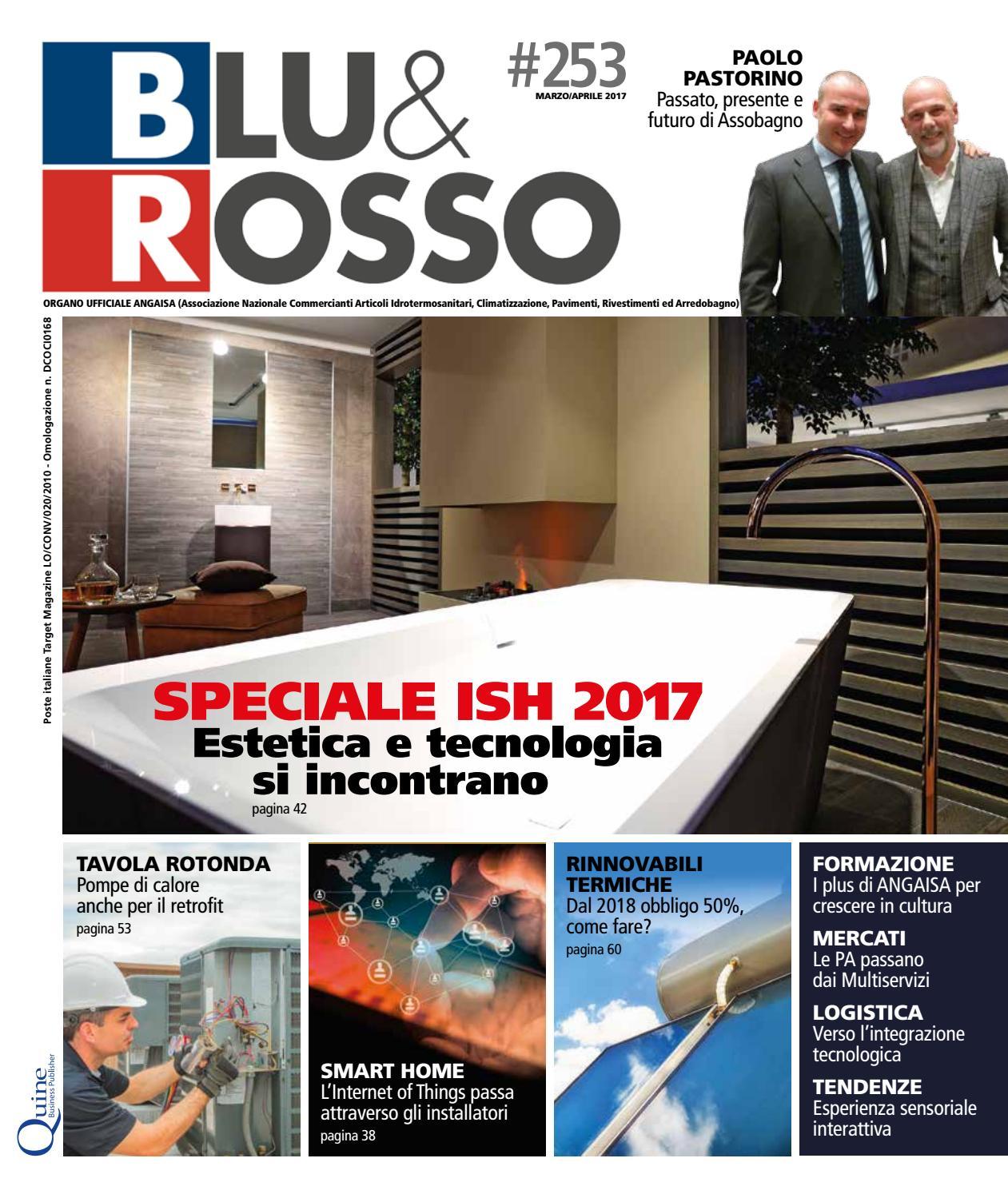blu&rosso n°253 - marzo/aprile by quine business publisher - issuu - Simonetti Villorba Arredo Bagno