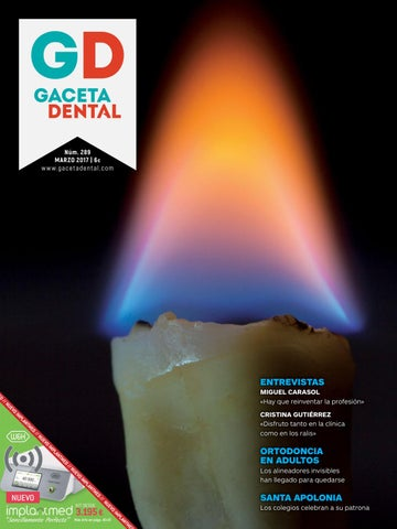 Gaceta Dental - 289 by Peldaño - issuu 19ea7cdccd