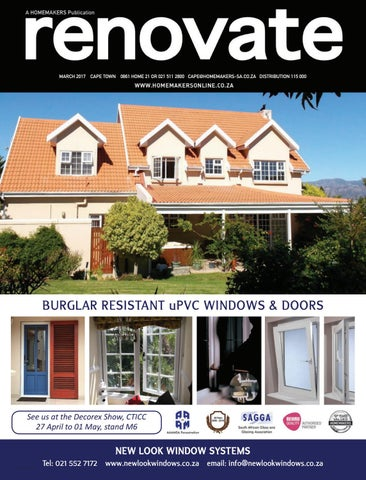 Renovate Cape Town March 2017 By Homemakers Issuu