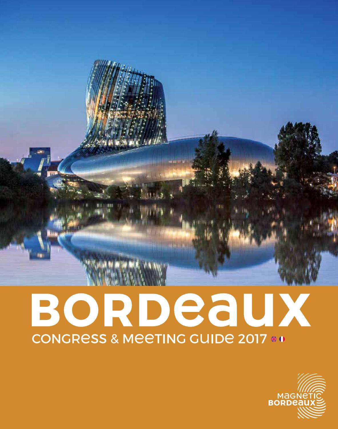 bordeaux meeting guide 2017 by office de tourisme de bordeaux m tropole issuu. Black Bedroom Furniture Sets. Home Design Ideas