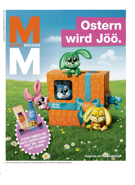 Migros magazin 11 2017 d bl by Migros-Genossenschafts-Bund - issuu