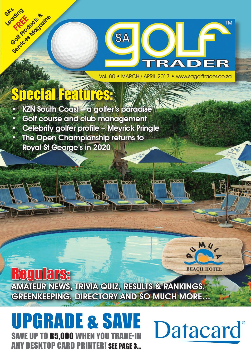 SA's Leading FREE Golf Products & Services Magazine: Powered by Print, Digital & Social Media.