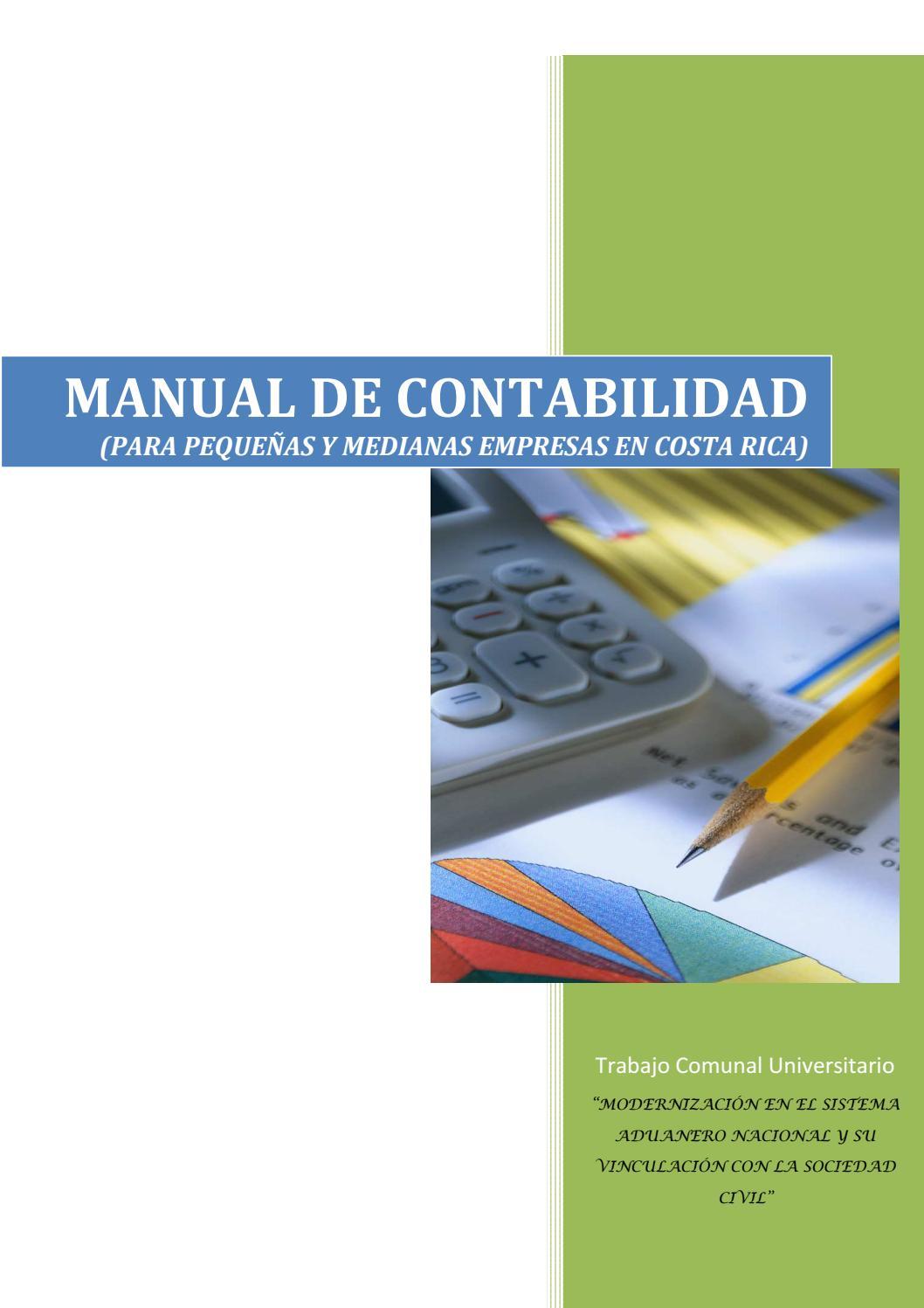 Manual de contabilidad para pyme by Elizabeth Suarez Rios - issuu