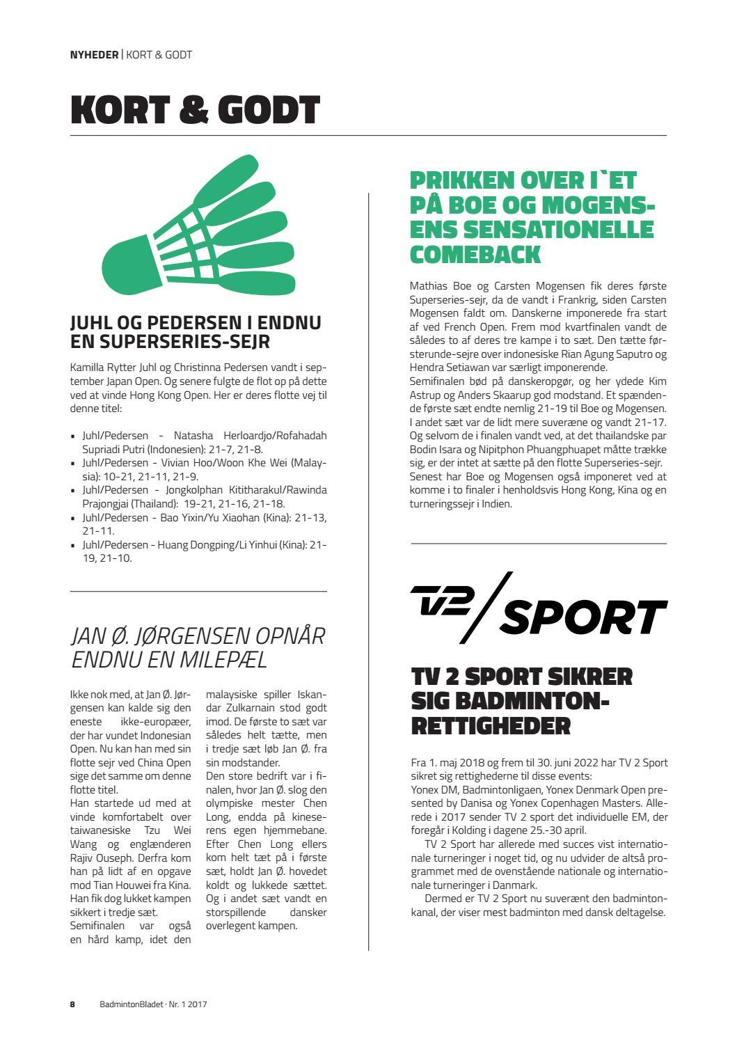 Badmintonbladet Vol Vi By Badmintonbladet Issuu