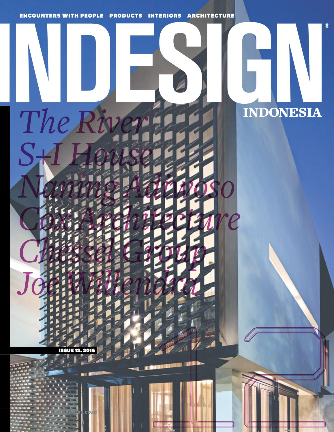 Indesign Indonesia March June 2016 By Sunthy Sunowo Issuu