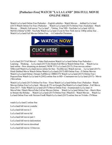 la la land free movie watch